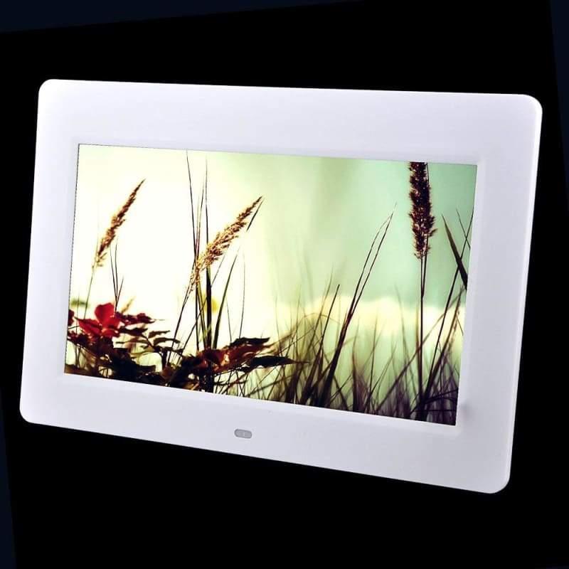 10-inch Digital Photo Frame - White / EU Plug - Digital Photo Frames