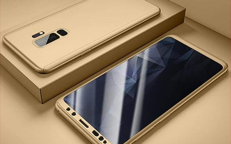 360 Degree Full Cover Luxury Phone Case For Samsung Galaxy - Gold / S7 - Fitted Cases