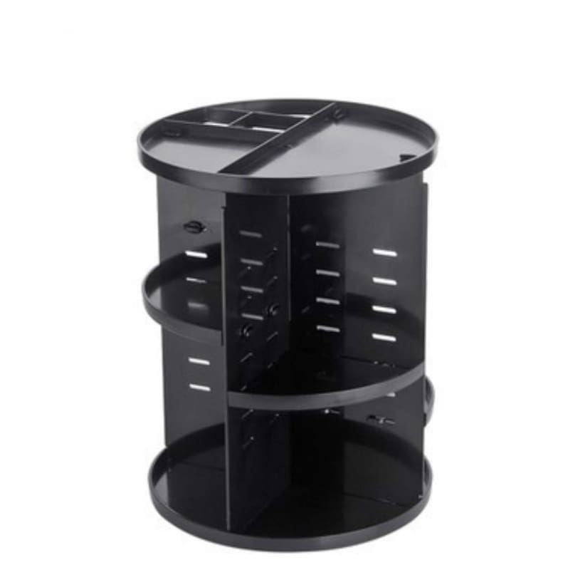360 Degree Makeup Organizer - Black - Furniture Accessories