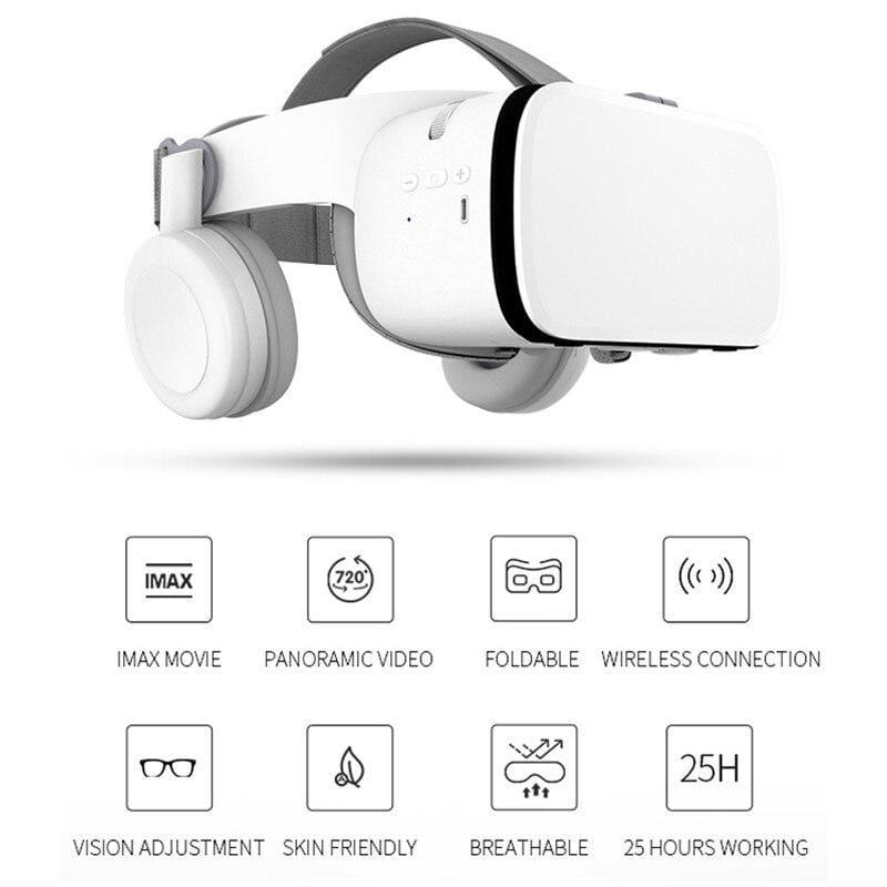 3D Glasses Virtual Reality Immersive VR Headset - Smart Gadget