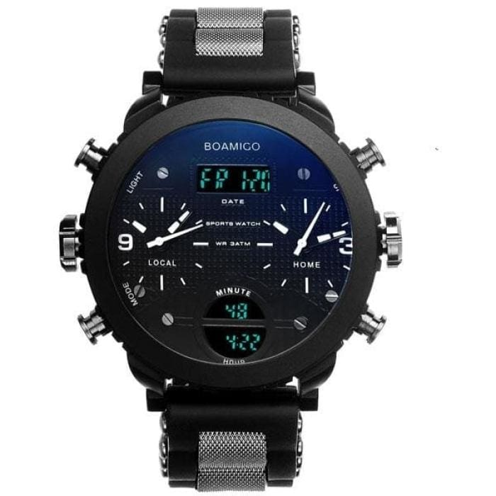 3 Time Zone Military Sports Watches - white - Sports Watches