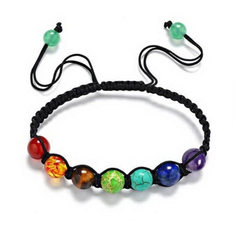 7 Chakra Bracelet Yoga Bracelet Healing - Chakra beeds - Charm Bracelets