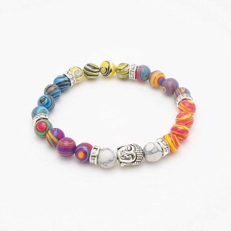 7 Chakra Stone Healing - 4 - Charm Bracelets