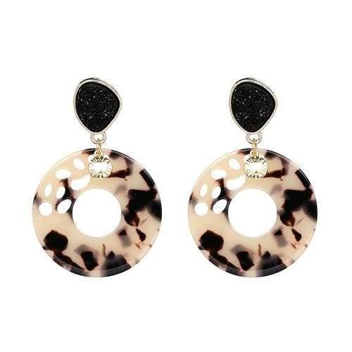 7 Colors Fashion Tassel Earrings - 50774-BE - Drop Earrings