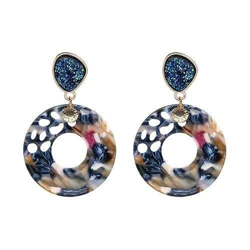 7 Colors Fashion Tassel Earrings - 50774-MT - Drop Earrings