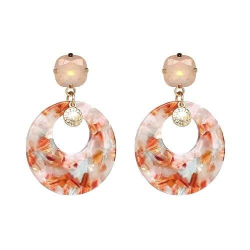 7 Colors Fashion Tassel Earrings - 50776-BN - Drop Earrings