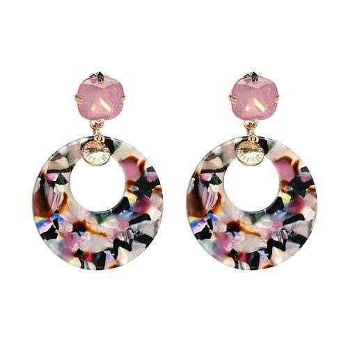 7 Colors Fashion Tassel Earrings - 50776-MT - Drop Earrings