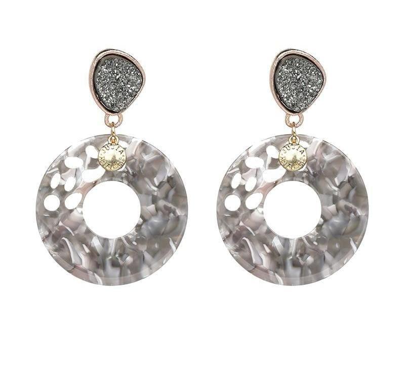 7 Colors Fashion Tassel Earrings - Drop Earrings
