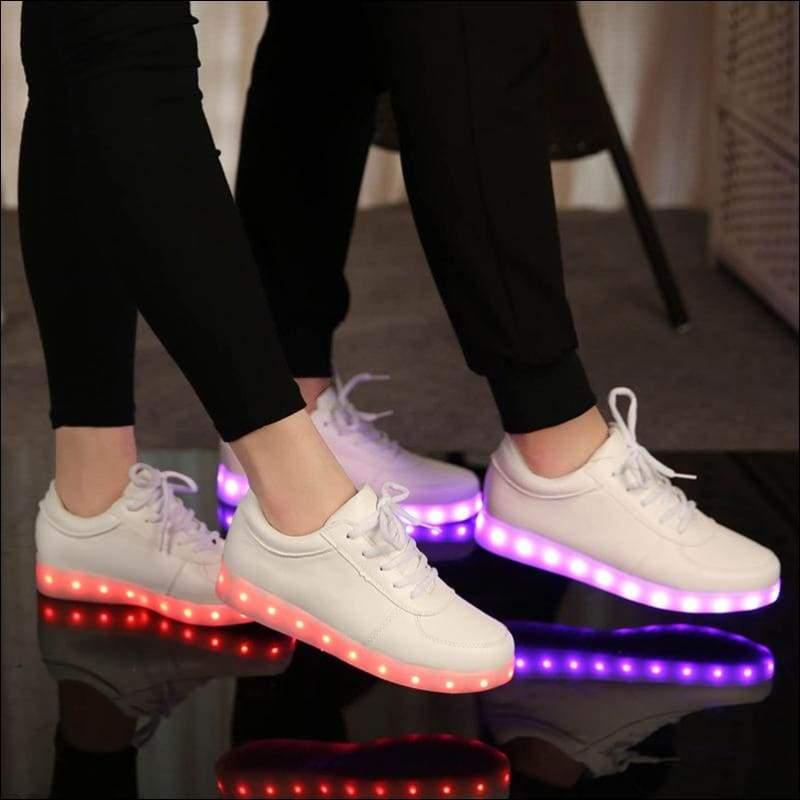 7 Colors Kid Luminous Sneakers - LED Shoes