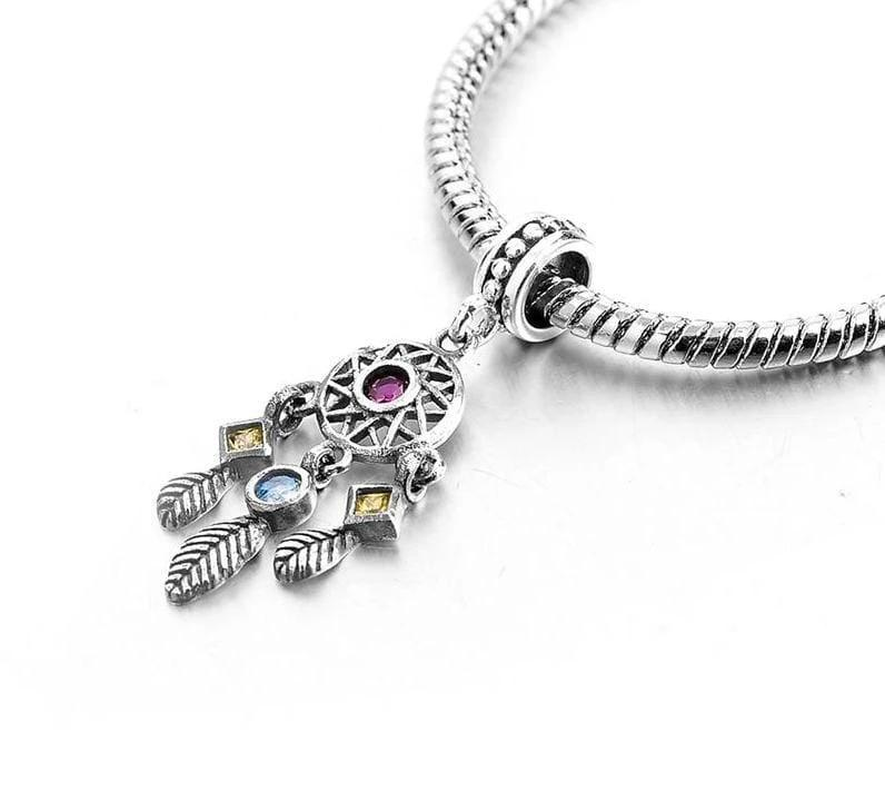 925 Sterling Silver Charms Beads - Beads