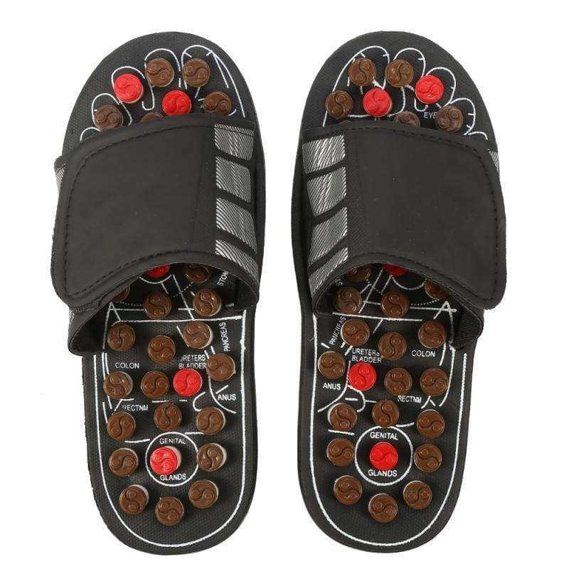 Amazing Acupuncture Therapy Slippers - 44 45 - Massage & Relaxation