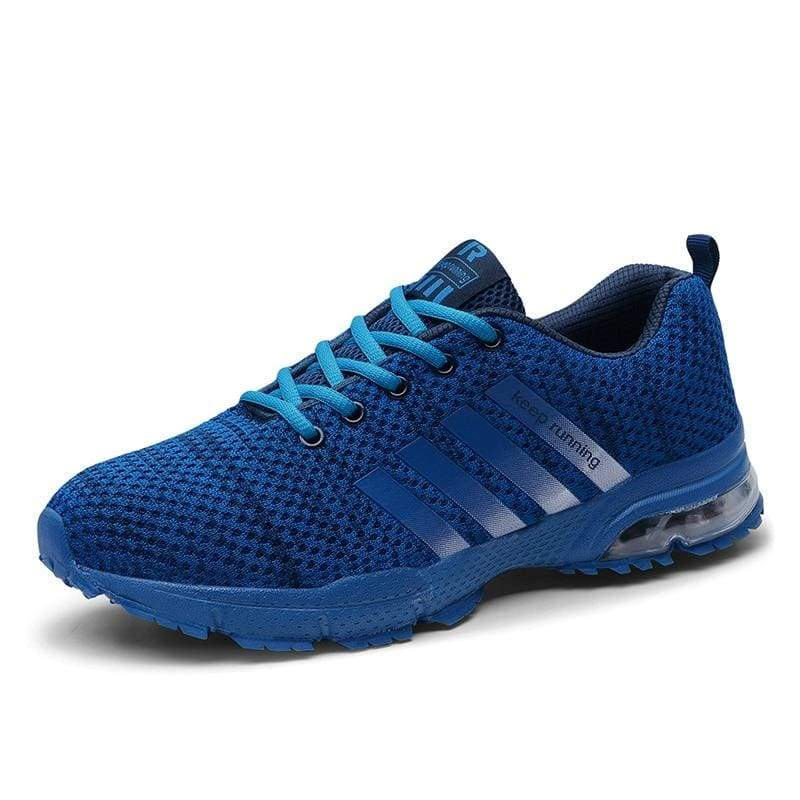 Air Cushion Sneakers - 8877Blue / 11 - Mens Casual Shoes