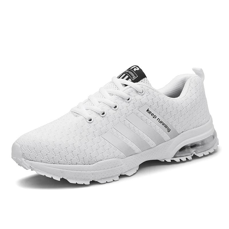Air Cushion Sneakers - 8877White / 10.5 - Mens Casual Shoes
