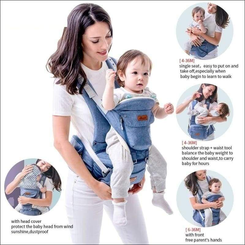 All-in-one Baby Breathable Carrier - Backpacks & Carriers