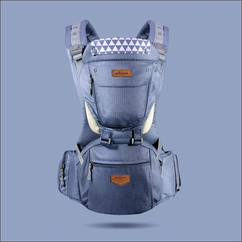 All-in-one Baby Breathable Carrier - blue - Backpacks & Carriers