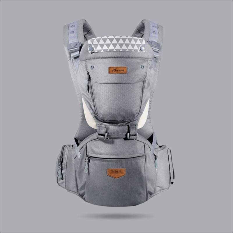 All-in-one Baby Breathable Carrier - gray - Backpacks & Carriers