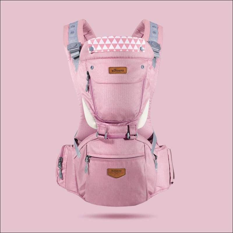 All-in-one Baby Breathable Carrier - pink - Backpacks & Carriers