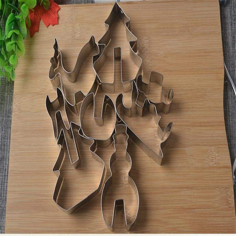 Amazing 3D Christmas Cookie Cutter - Cookie Tools