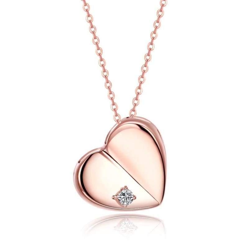 Amazing Heart Pendant Necklace - D - Pendant Necklaces