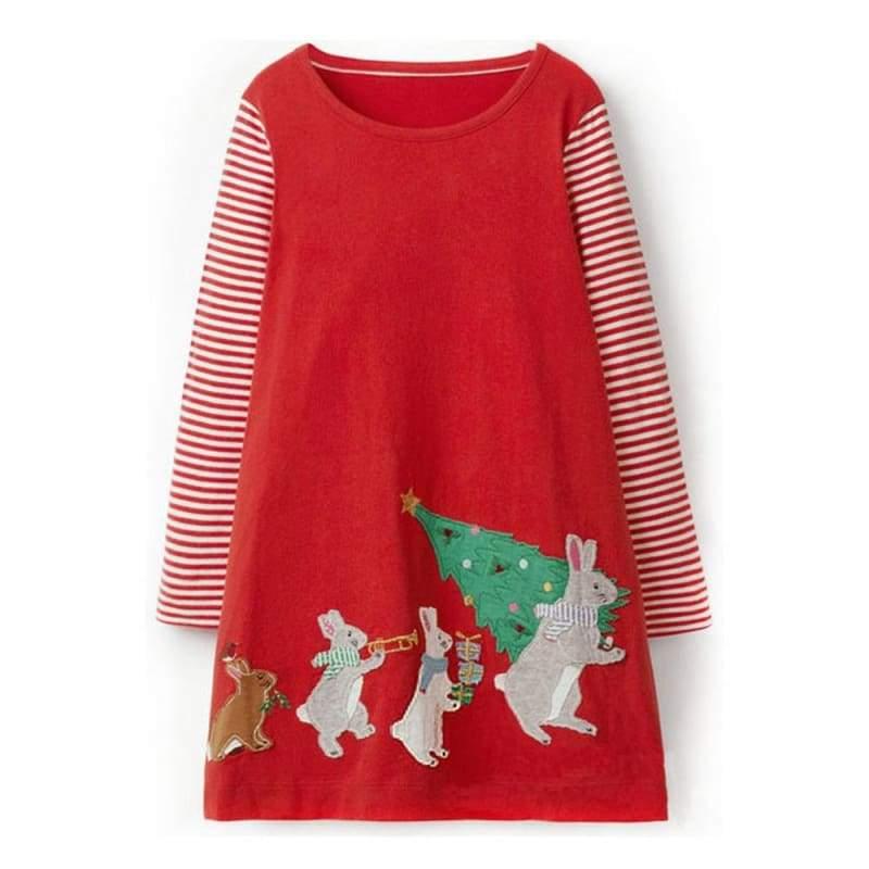 Amazing Princess Christmas Dress - 100 37 / 2T - Dresses
