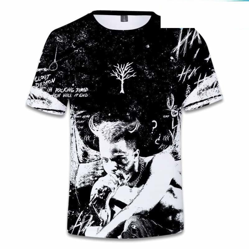 Amazing tribute T-shirt - 3D-1 / 4XL - T-Shirts