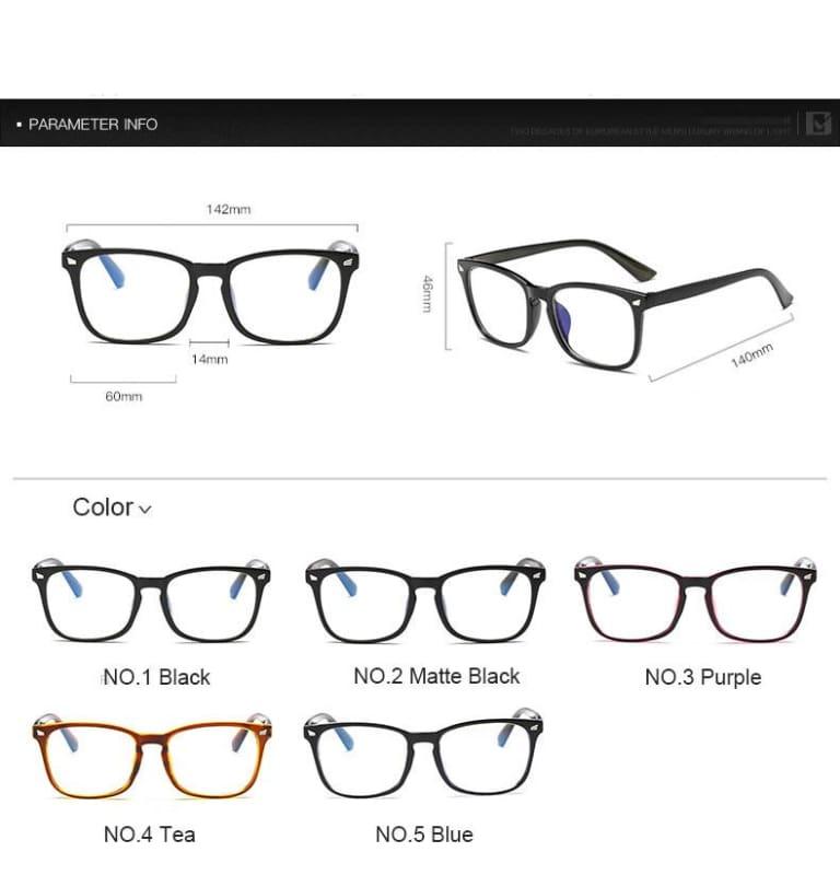 Anti Blue Rays Computer Glasses - 361250