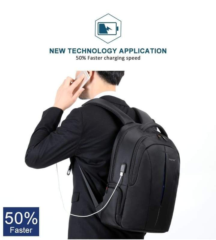 Anti Theft Laptop Backpack Splash Proof Just For You - Backpacks1