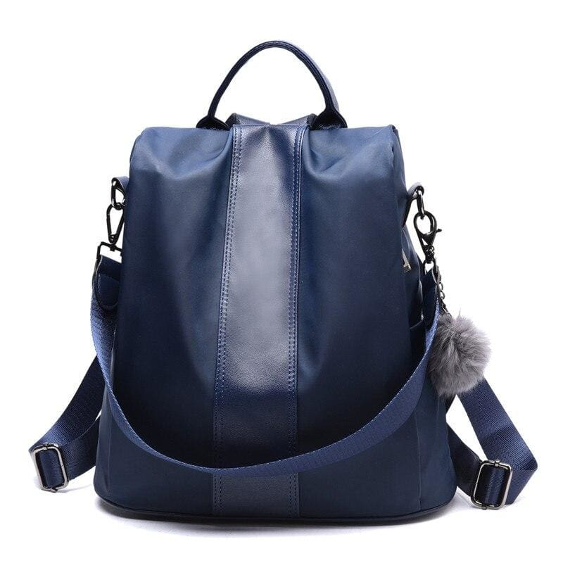 Anti-thief Backpack Just For You - Blue / 31x30x15cm - Backpacks