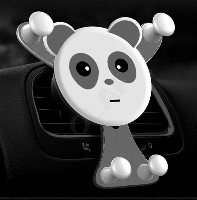 Bear Hug Car Phone Holder - Grey Bear - Mobile Phone Holders & Stands