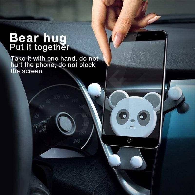 Bear Hug Car Phone Holder - Mobile Phone Holders & Stands
