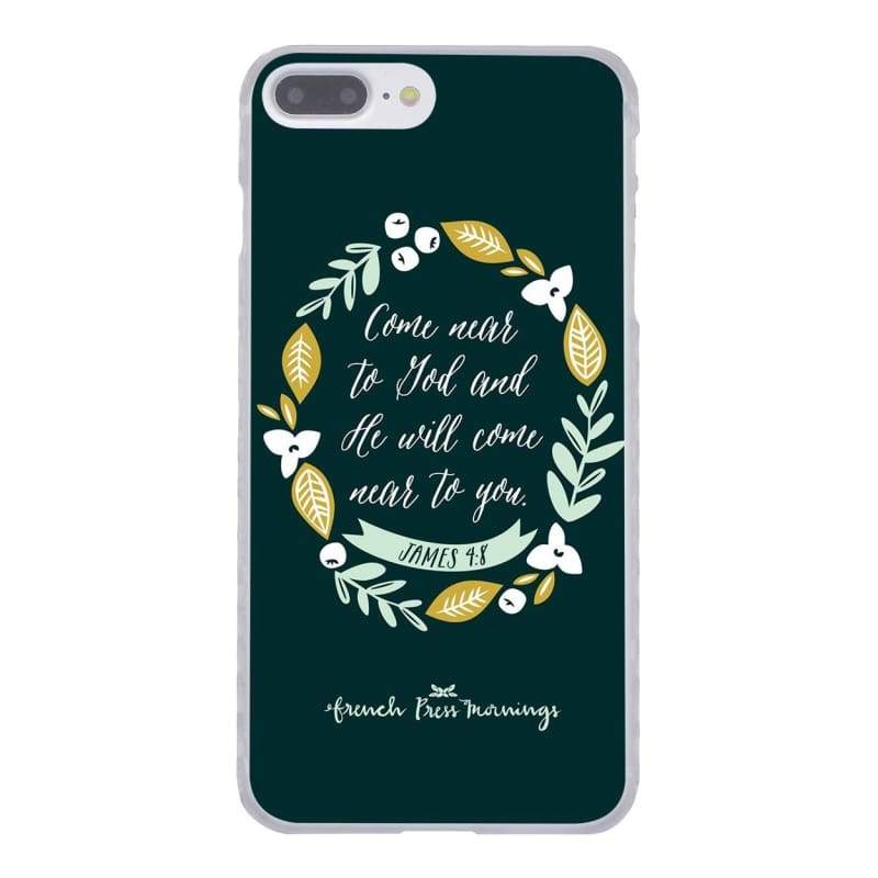 Bible Verse iPhone Case - 2 / for iPhone 4 4S - Half-wrapped Case