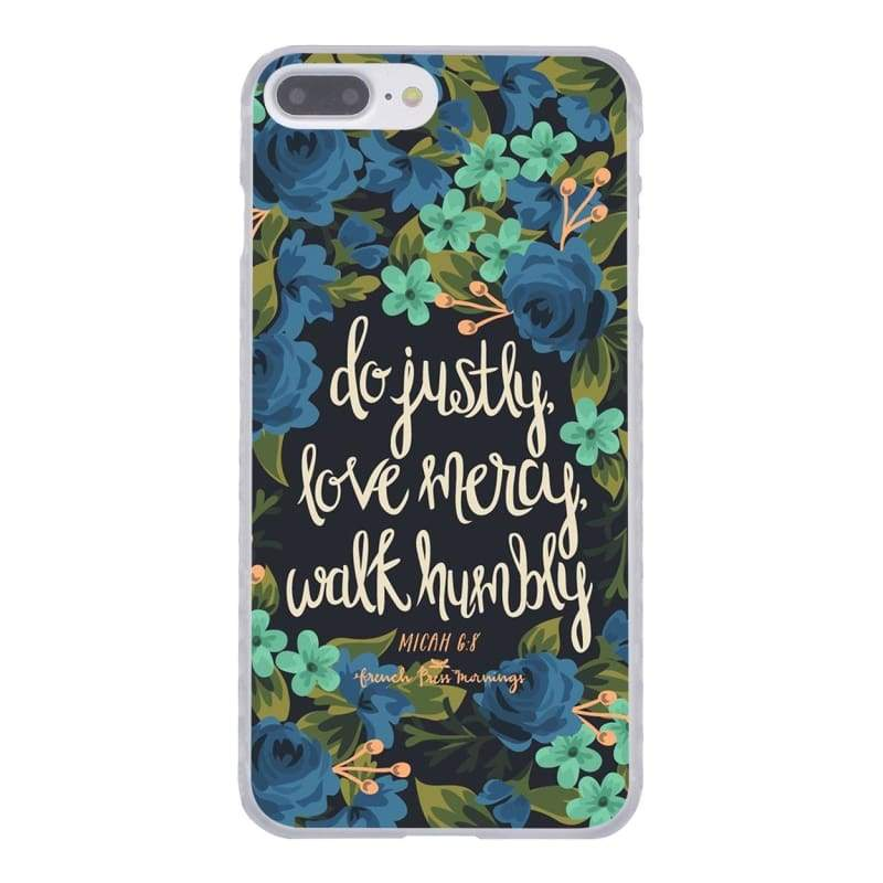 Bible Verse iPhone Case - 5 / for iPhone 4 4S - Half-wrapped Case