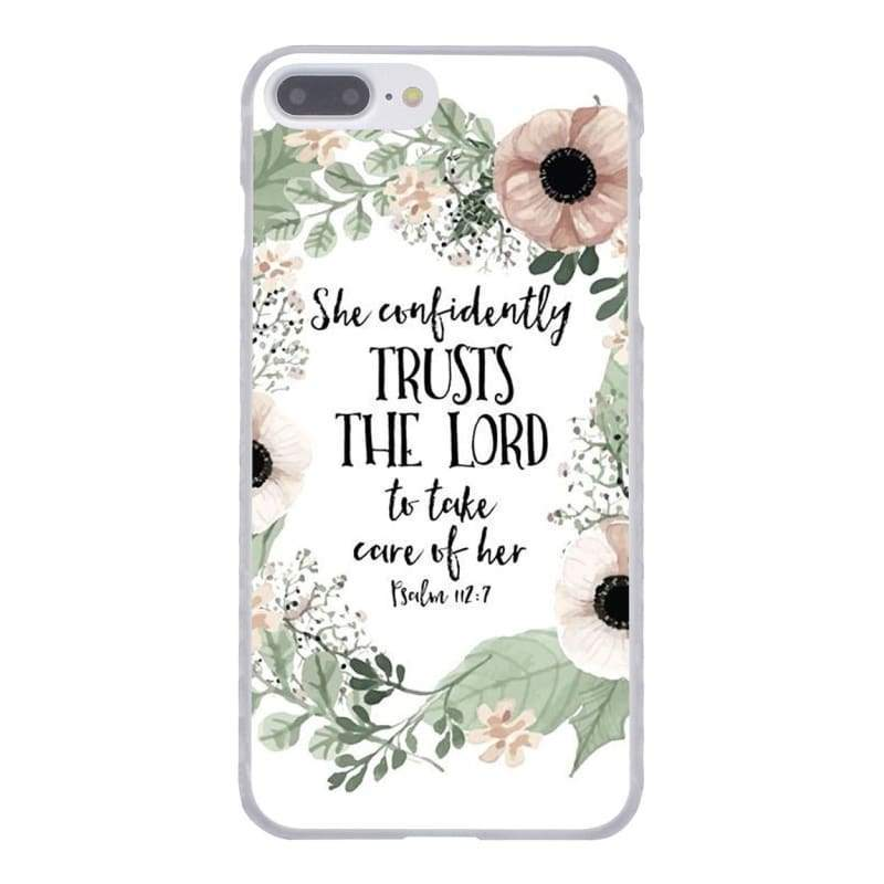 Bible Verse iPhone Case - 7 / for iPhone 4 4S - Half-wrapped Case