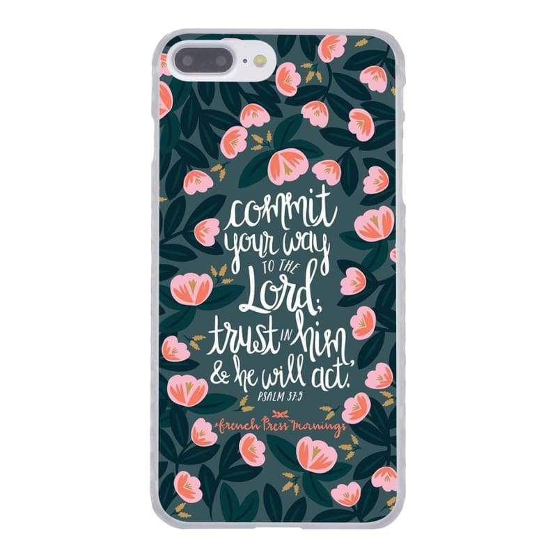 Bible Verse iPhone Case - 8 / for iPhone 4 4S - Half-wrapped Case