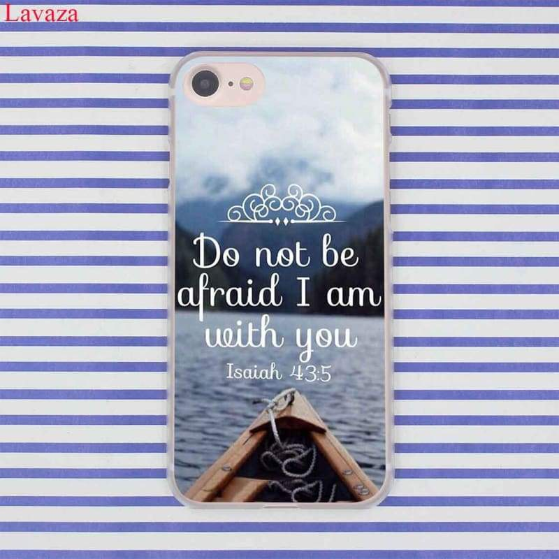 Bible Verse iPhone Case - Half-wrapped Case