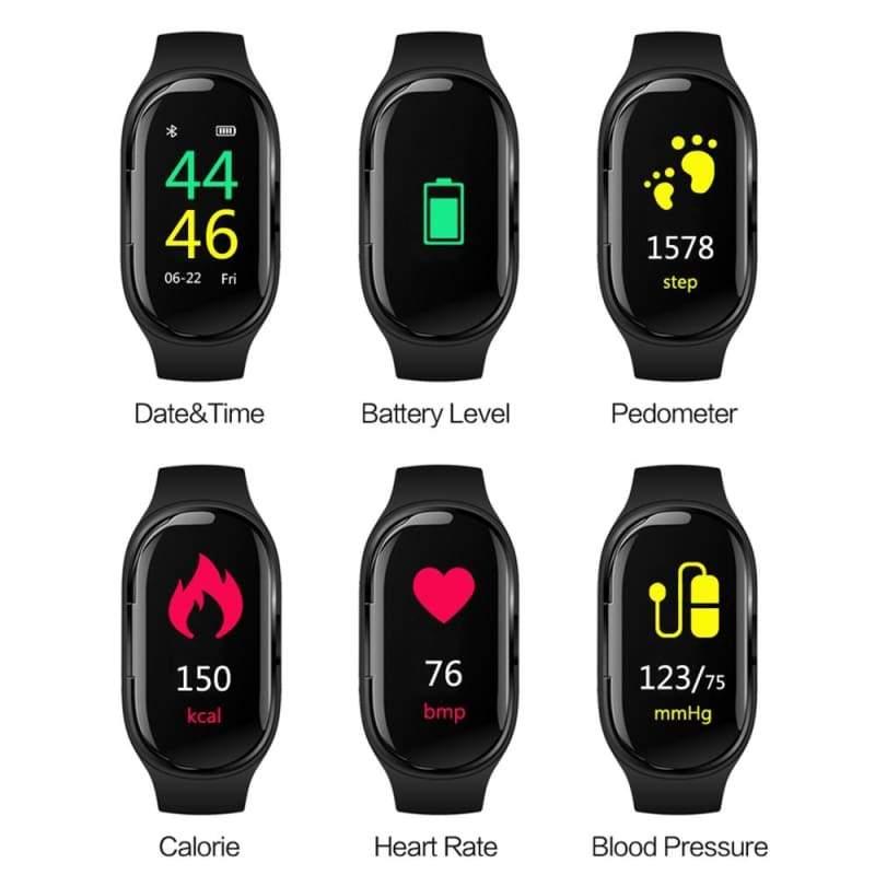 Bluetooth 5.0 Earphone Wireless Headphones - Smart Watches1