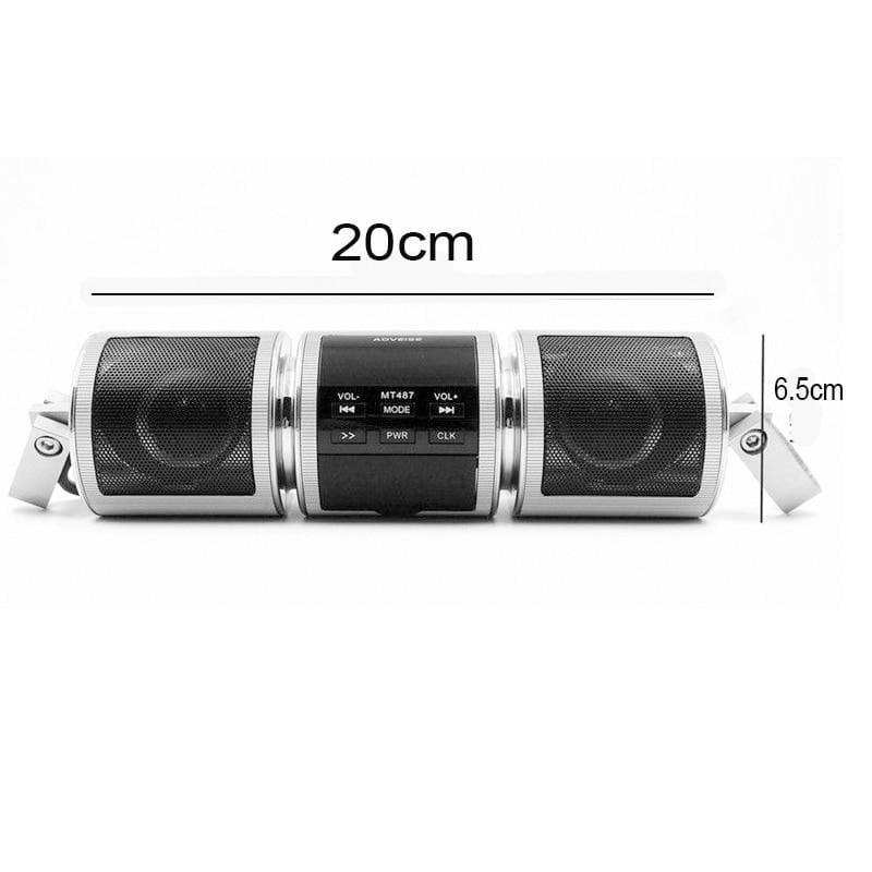 Bluetooth Motorcycle Speakers - Bike accessories