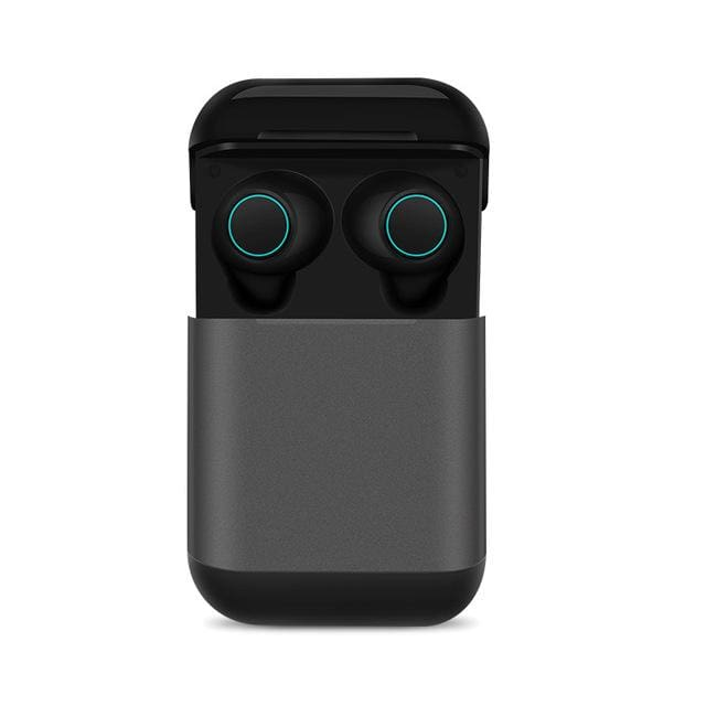 Bluetooth TWS Earbuds Wireless Earphones - Dark Grey - Smart Watches1
