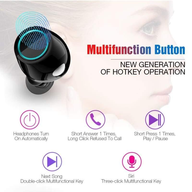 Bluetooth TWS Earbuds Wireless Earphones - Smart Watches1