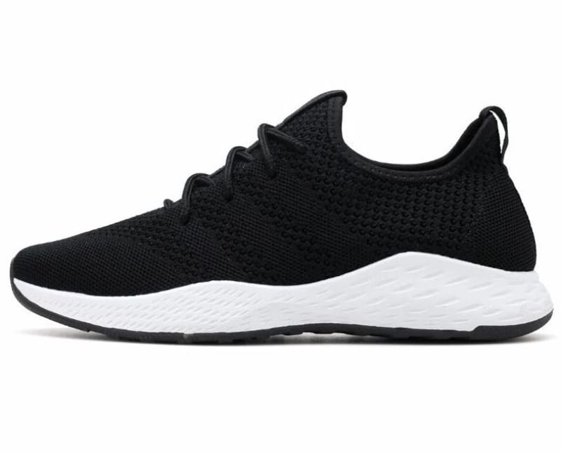 Boost Breathable Shoes - Black White / 9.5 - Mens Casual Shoes