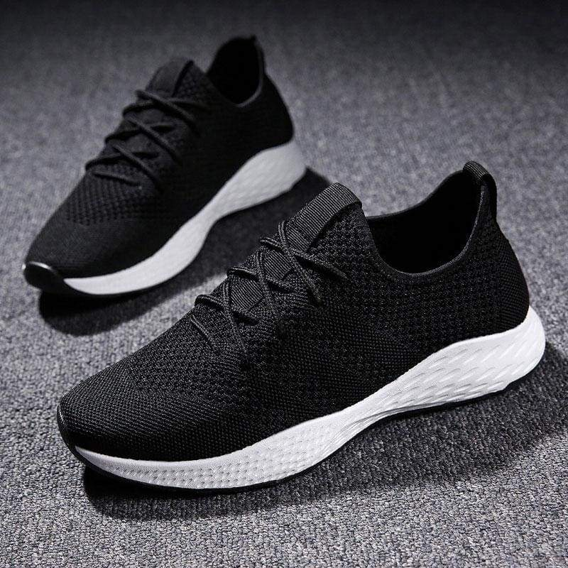 Boost Breathable Shoes For Summer - Black White / 6 - Mens Casual Shoes