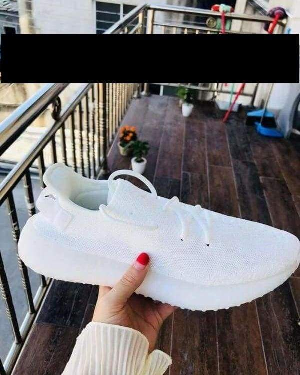Boost Breathable Shoes Men & Women - All White / 5.5 - Mens Casual Shoes