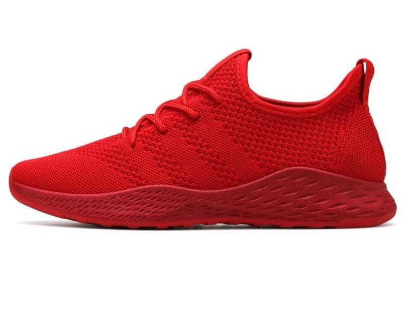 Boost Breathable Shoes - Red / 8 - Mens Casual Shoes