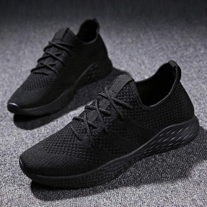 Boost Breathable Shoes For Summer - All Black / 6 - Mens Casual Shoes