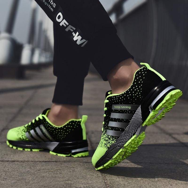Breathable Shoes Casual - 8702Green / 11.5 - Mens Casual Shoes