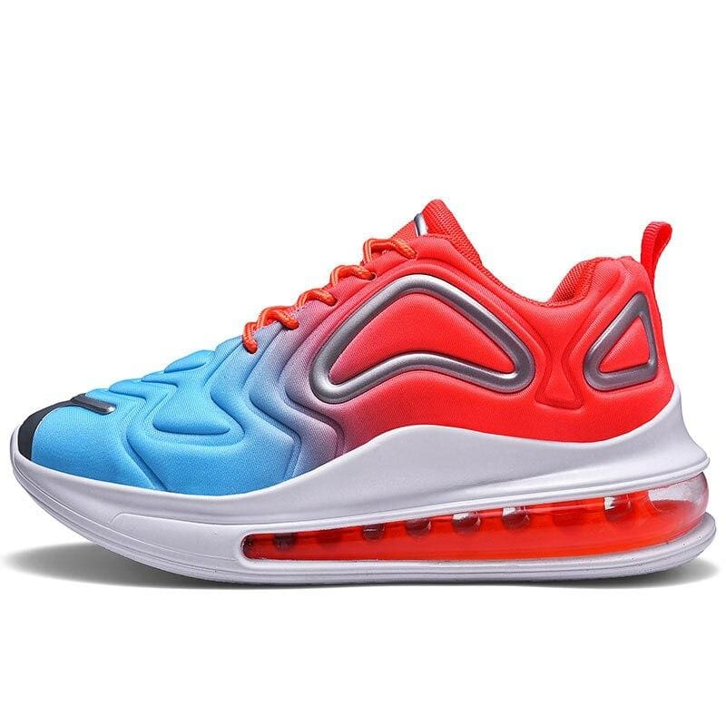 Breathable Shoes For Men and Women - Blue Orange / 5.5 - Boost Breathable Shoes