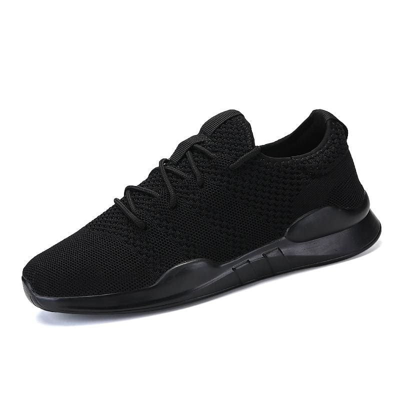 Breathable Shoes Sneakers - Black / 5 - Mens Casual Shoes