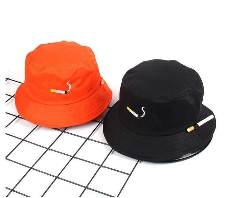 Bucket Cigarette Hat - Bucket Hats