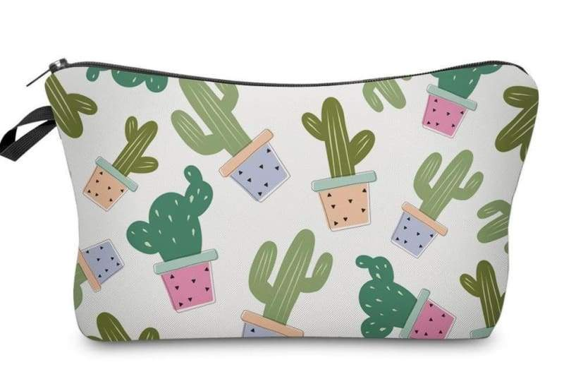 Cactus cosmetic bags - 35509 - Cosmetic Bags & Cases