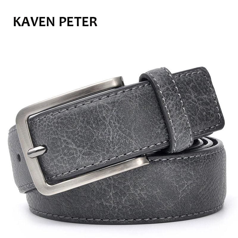 Casual Men Leather Belt - Mens Belts